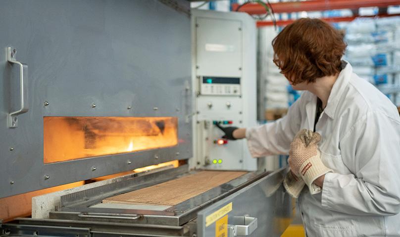 testauspalvelut palonesto teollisuus kiilto